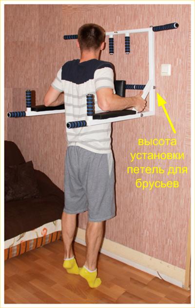 Турник и брусья для дома своими руками фото 247
