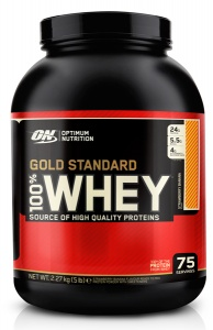 Optimum Nutrition 100% Gold Standard Whey 2270 г