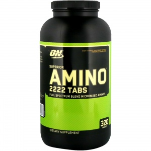 Optimum Nutrition Superior Amino 2222 Tabs 320 таблеток