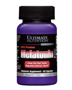Ultimate Nutrition Melatonin 60 капсул