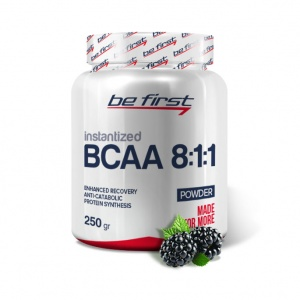 Be First BCAA 250 г 8:1:1 INSTANTIZED